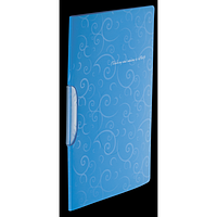 Швидкозшивач А4 з поворотним притиском, BAROCCO, блакитний