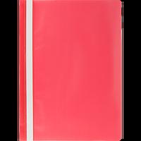 Швидкозшивач пласт. А4, PP, JOBMAX, червоний