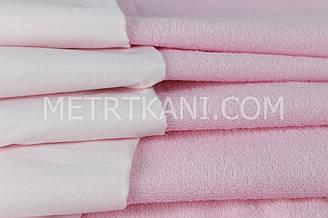 Непромокаемая ткань для пеленок ,махровая ткань, розвого цвета 180г/м/2 № МНП-3