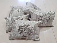 Комплект подушек коронки бежевые, 5шт, фото 1