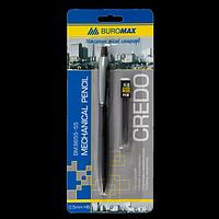 Олівець механічний і змінні стрижні в картонному блістері, 0.5мм