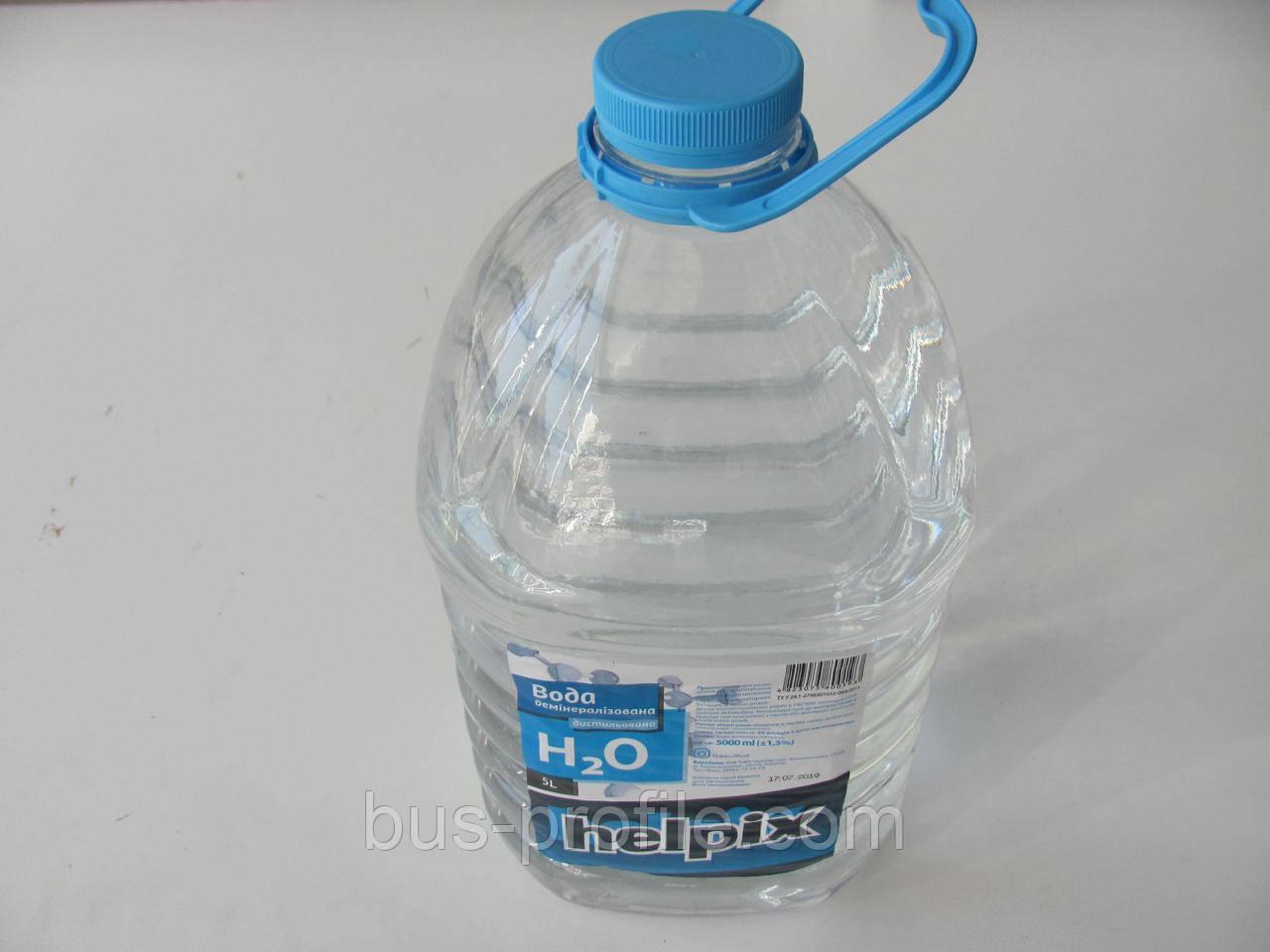 Вода дистиллированная 5л — HELPIX — h1911