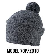 Шапка Ozzi pompon № 70P, шапка с балабоном
