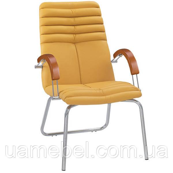 Конференц кресло GALAXY (ГЕЛАКСИ) WOOD CFA LB