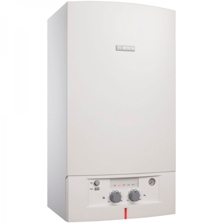 Газовый котел BOSCH Gaz 3000 W  - 28 кВт (250кв. м)