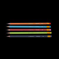 Олівець графітовий GRAPHITE НВ, асорті