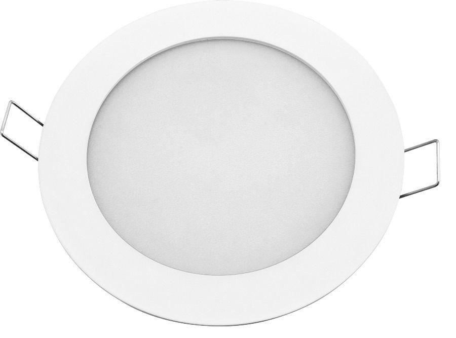 Светодиодный встраиваемый светильник круг 9W Slim-9 Horoz 4200K