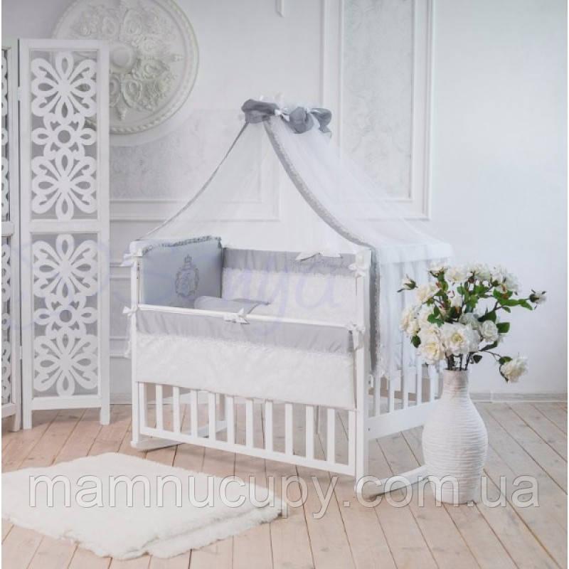 Комплект постельного белья в стандартную кроваткуFamily Kingdom серый