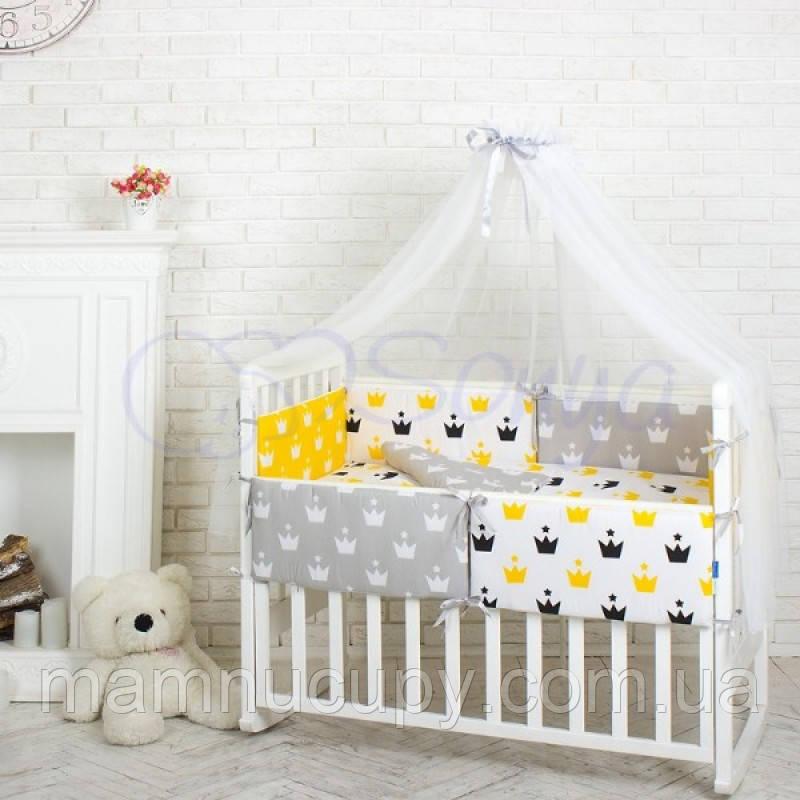 Комплект Comfort Желтые короны