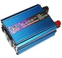 Автомобільний інвертор (перетворювач напруги) 12V-220V SSK-500W