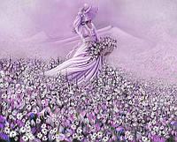 """Фотообои """"Девушка в цветочном поле"""""""
