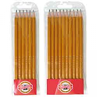 Набір з 6-ти технічних чорнографітних олівців