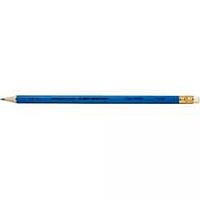 Олівець чорнографітовый з гумкою НВ