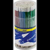 Олівець графітовий METALLIC НВ, асорті