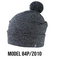Шапка Ozzi pompon № 84P, шапка с балабоном, фото 1