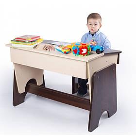 """Письменный стол- парта и стул детский """"Соня"""" двухцветный"""