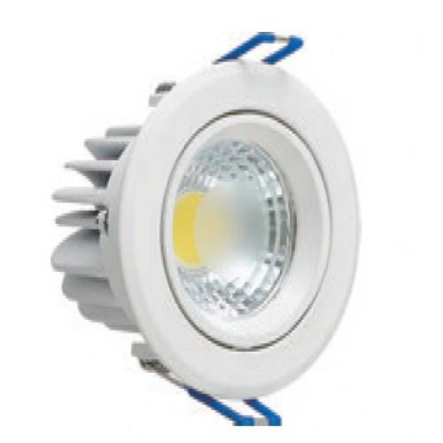 Светодиодный встраиваемый светильник круг 5W Lilya-5 Horoz Electric HL699LE