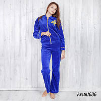 Комплект-двойка женский: брюки и кофта велюр Christina (Турция) krstn1636