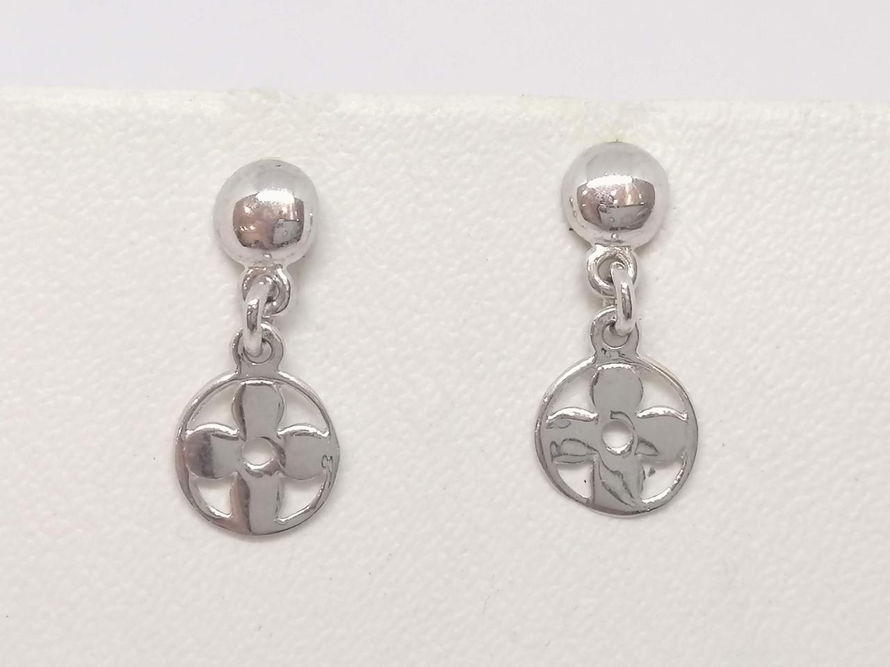 Срібні сережки. Артикул СП123С