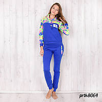 Комплект-двойка женский спорт: штаны и туника с капюшоном Primo tocco (Турция) prtk8064