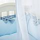 Комплект постельного белья в стандартную кроватку Flamingo голубой ТМ «Маленькая Соня», фото 9