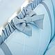 Комплект постельного белья в стандартную кроватку Flamingo голубой ТМ «Маленькая Соня», фото 10