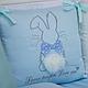 Комплект постельного белья в стандартную кроватку Зайчики голубой ТМ «Маленькая Соня», фото 7