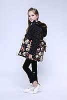 Тёплая курточка для девочки  140 и 160 р.