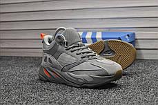 """Зимние кроссовки на меху Adidas Yeezy 700 Interia """"Серые"""", фото 3"""