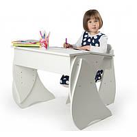 Набор: стул и парта регулируемые Соня (белый), фото 1