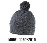 Шапка Ozzi pompon № 115P, шапка с балабоном, фото 1