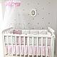 Комплект постельного белья в стандартную кроватку Shine Алиса розовый ТМ «Маленькая Соня», фото 3