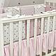 Комплект постельного белья в стандартную кроватку Shine Алиса розовый ТМ «Маленькая Соня», фото 4