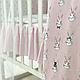 Комплект постельного белья в стандартную кроватку Shine Алиса розовый ТМ «Маленькая Соня», фото 6