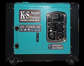 Генератор бензиновый Konner&Sohnen KS 7500E-SS (7 кВт)