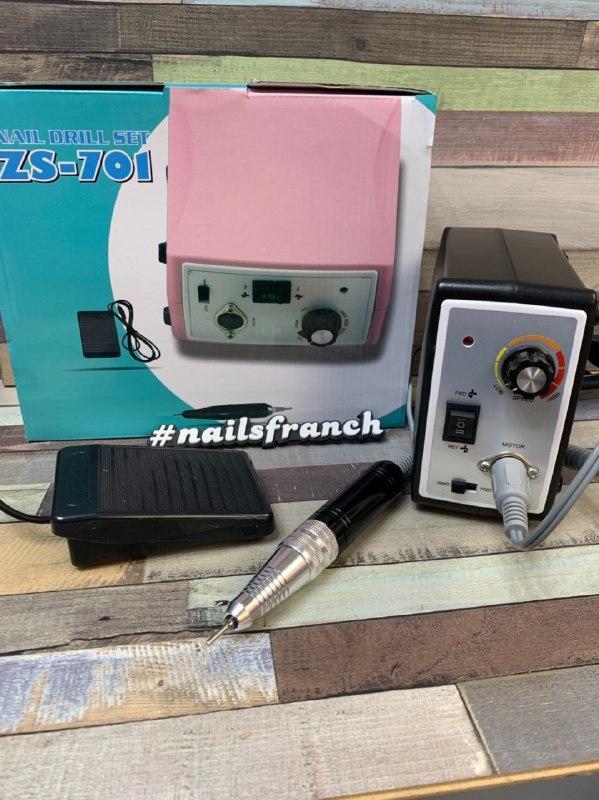 Фрезер для маникюра и педикюра ZS-701 45w 45000 об/мин