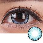 Цветные линзы для глаз, лед + контейнер для линз в подарок, фото 2