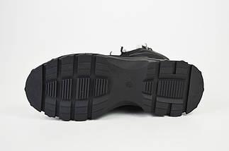 Ботинки женские на платформе черные Lonza 3951939, фото 3