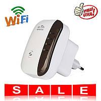 Безпровідний Wi-Fi репітер розширювач діапазону Wi-Fi мережі / Підсилювач Wi-Fi (WF-09), фото 1