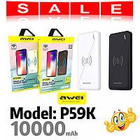 AWEI Powerbank AW-P59K 10000 MAH, фото 1