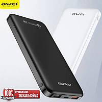 AWEI Powerbank AW-P29K + 10000 MAH + FAST CHARGE, фото 1