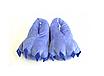 Домашние тапочки лапки кигуруми Синие, фото 2