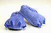 Домашние тапочки лапки кигуруми Синие, фото 3