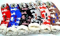 Тёплые носки с рисунком YW 809