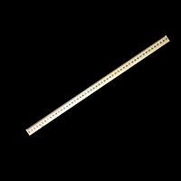 Лінійка дерев'яна 50 см (шовкографія)
