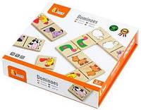 Настольная игра Viga Toys Домино Насекомые
