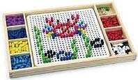 Игра Viga Toys 2-в-1 Мозаика и лудо