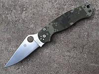 Складной качественный нож Spyderco