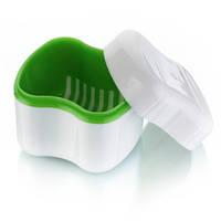 Контейнер для хранения и дезинфекции съемных зубных протезов