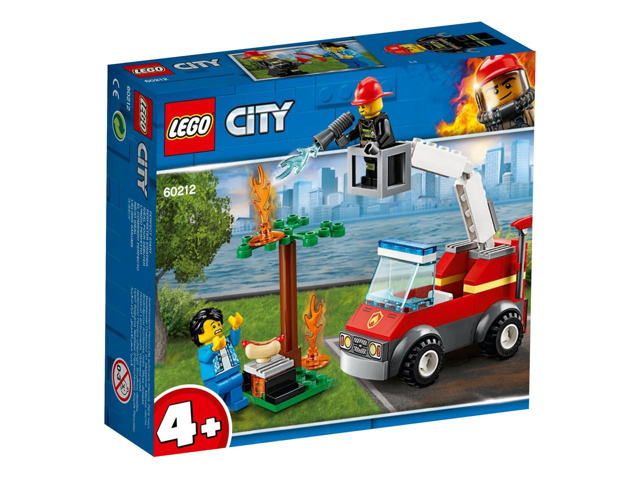 Конструктор LEGO City Пожар на пикнике 64 детали (60212)